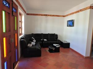 Apartahotel La Gran Familia, Апарт-отели  Вилья-де-Лейва - big - 9