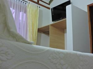 Apartahotel La Gran Familia, Апарт-отели  Вилья-де-Лейва - big - 7