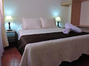 Apartahotel La Gran Familia, Апарт-отели  Вилья-де-Лейва - big - 39