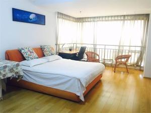 Beijing Tiandi Huadian Hotel Apartment Youlehui Branch, Ferienwohnungen  Peking - big - 13