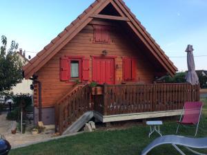 Location gîte, chambres d'hotes Chalet Colline et Lou dans le département Haut Rhin 68