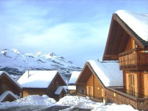 Résivacances Les Chalets de la Lauzière, Alpesi faházak  La Joue du Loup - big - 37