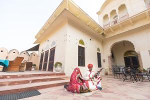 Alsisar Mahal- Heritage Hotel, Отели  Alsīsar - big - 46