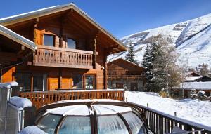 Location gîte, chambres d'hotes Odalys Chalet le Soleil Levant dans le département Isère 38