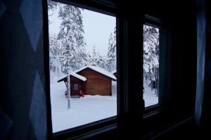 7 Fells Hostel, Hostelek  Äkäslompolo - big - 21