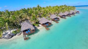 Aitutaki Lagoon Private Island..
