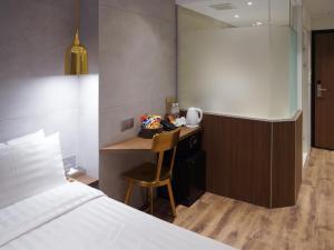 Hotel Relax 5, Szállodák  Tajpej - big - 64