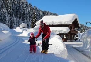 Alpin Park, Bed & Breakfast  Sappada - big - 74