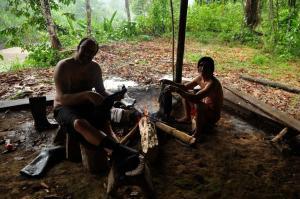 Huella Verde Rainforest Lodge, Chaty v prírode  Canelos - big - 11