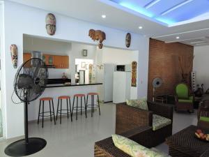 Casa Campestre El Peñon 5 Habitaciones, Aparthotels  Girardot - big - 52