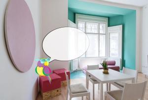 Colorful Ernesto, Apartmány  Budapešť - big - 13
