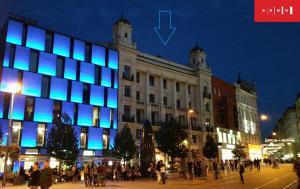 Apartmán Square Apartments Brno Česko