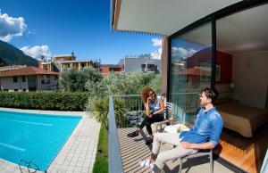 Hotel Holiday Sport & Relax, Hotels  Nago-Torbole - big - 12