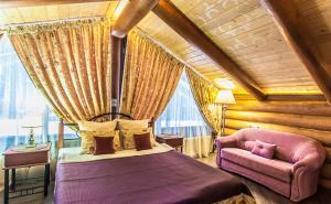 Paradis, Vidiecke domy  Borovlyany - big - 10
