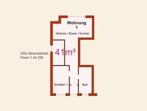 Ferienwohnungen Stranddistel, Apartmány  Zinnowitz - big - 14