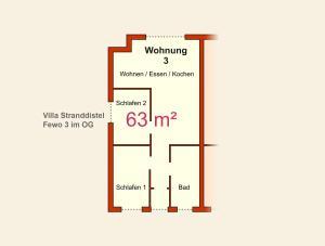 Ferienwohnungen Stranddistel, Apartmány  Zinnowitz - big - 204
