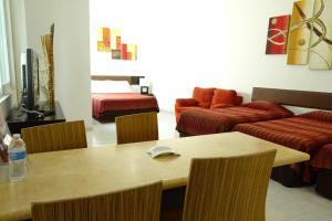 Aparthotel Siete 32, Apartmanhotelek  Mérida - big - 21