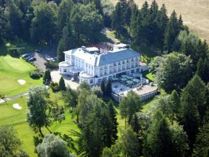 4 stern hotel Parkhotel Golf Marianske Lazne Marienbad Tschechien