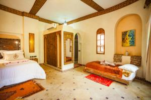 Bugalow Double Room Riad Lamane
