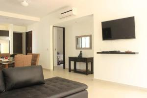 Luxurious Condo in a Breathtaking Environment - Access to Grand Bahia Amenities, Apartments  Akumal - big - 9