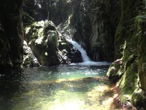 Ebano Verde Waterfall and Ecolodge