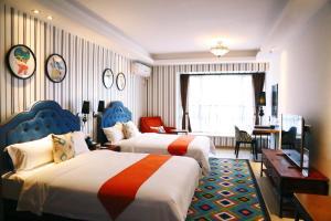 Perfect Service Apartment, Apartmanok  Kuangcsou - big - 36