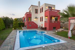 Four-Bedroom Villa with Private Pool- Alkyone Alkyonides Crete Villas