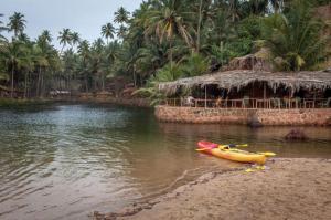 Krishna Paradise Beach Resort, Campeggi di lusso  Cola - big - 53