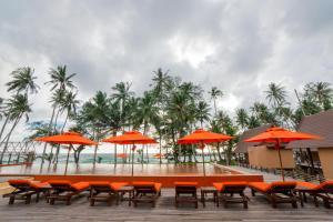 Koh Kood Paradise Beach, Üdülőtelepek  Kut-sziget - big - 68