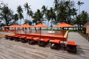 Koh Kood Paradise Beach, Üdülőtelepek  Kut-sziget - big - 34