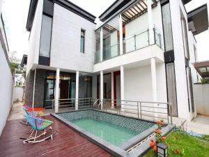 Conghua Mingyue Shanxi Fengyuan Li, 2nd Street No. 4 Villa, Виллы  Conghua - big - 3