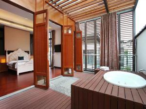 Conghua Mingyue Shanxi Fengyuan Li, 2nd Street No. 4 Villa, Виллы  Conghua - big - 9