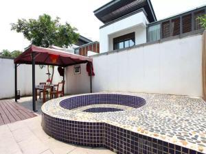 Conghua Mingyue Shanxi Fengyuan Li, 2nd Street No. 4 Villa, Виллы  Conghua - big - 12