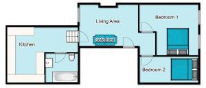 Norton Apartment, Апартаменты  Брайтон-энд-Хов - big - 2