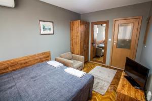 Panorama Top Floor Rooms in Hotel Tundzha, Гостевые дома  Ямбол - big - 13