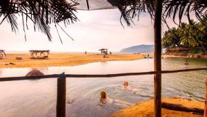 Krishna Paradise Beach Resort, Campeggi di lusso  Cola - big - 65