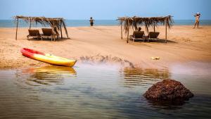 Krishna Paradise Beach Resort, Campeggi di lusso  Cola - big - 66