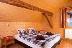 Double Room Chalet Cergnat Bed and Breakfast