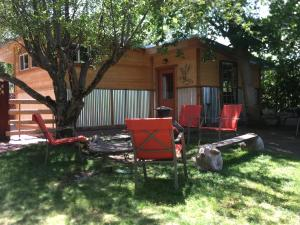 Lava Hideout Cabins, Holiday homes  Lava Hot Springs - big - 1