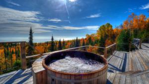 obrázek - Le Refuge - Les Chalets Spa Canada