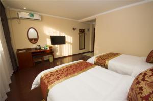 Hostales Baratos - GreenTree Inn Zhejiang Hangzhou Linan Wanma Road Express Hotel