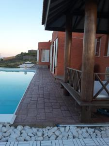 Villa Zen Dans Le Bleu Syros Grece