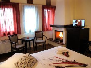 Hotel Mirovoli, Отели  Милиес - big - 29