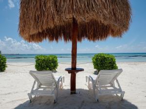 Riviera Maya Haciendas - Beach Front Condo - بويرتو أفينتوراس