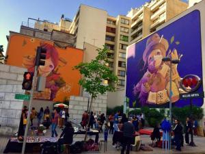 Bellas Artes With View Of The Andes, Apartmanok  Santiago - big - 5