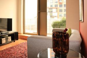 Puerta Alameda Suites, Apartmány  Mexiko - big - 57