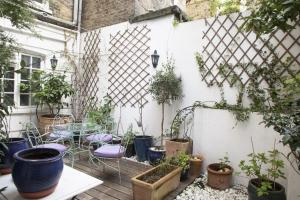 onefinestay - South Kensington private homes III, Апартаменты  Лондон - big - 120