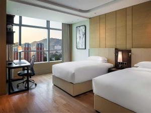 Hilton Jinan South Hotel & Residences, Hotely  Ťi-nan - big - 19