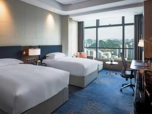 Hilton Jinan South Hotel & Residences, Hotely  Ťi-nan - big - 23