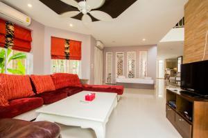 Tamnak Beach House, Ferienhäuser  Na Jomtien - big - 7
